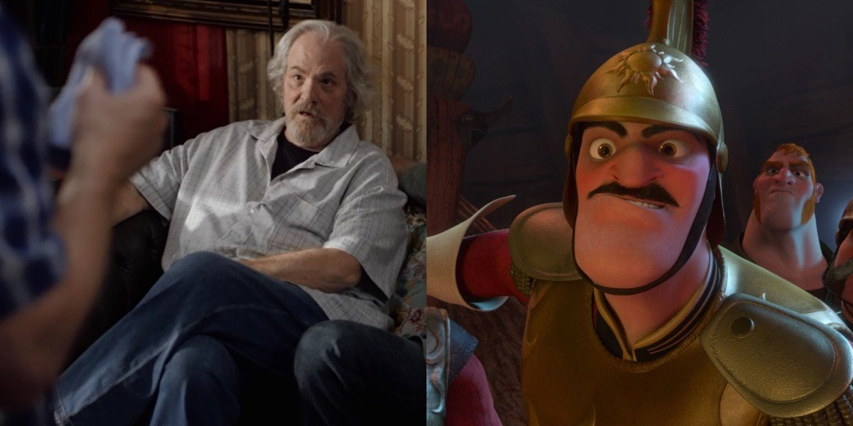 M.C. Gainey in Maron/Screenshot from Tangled