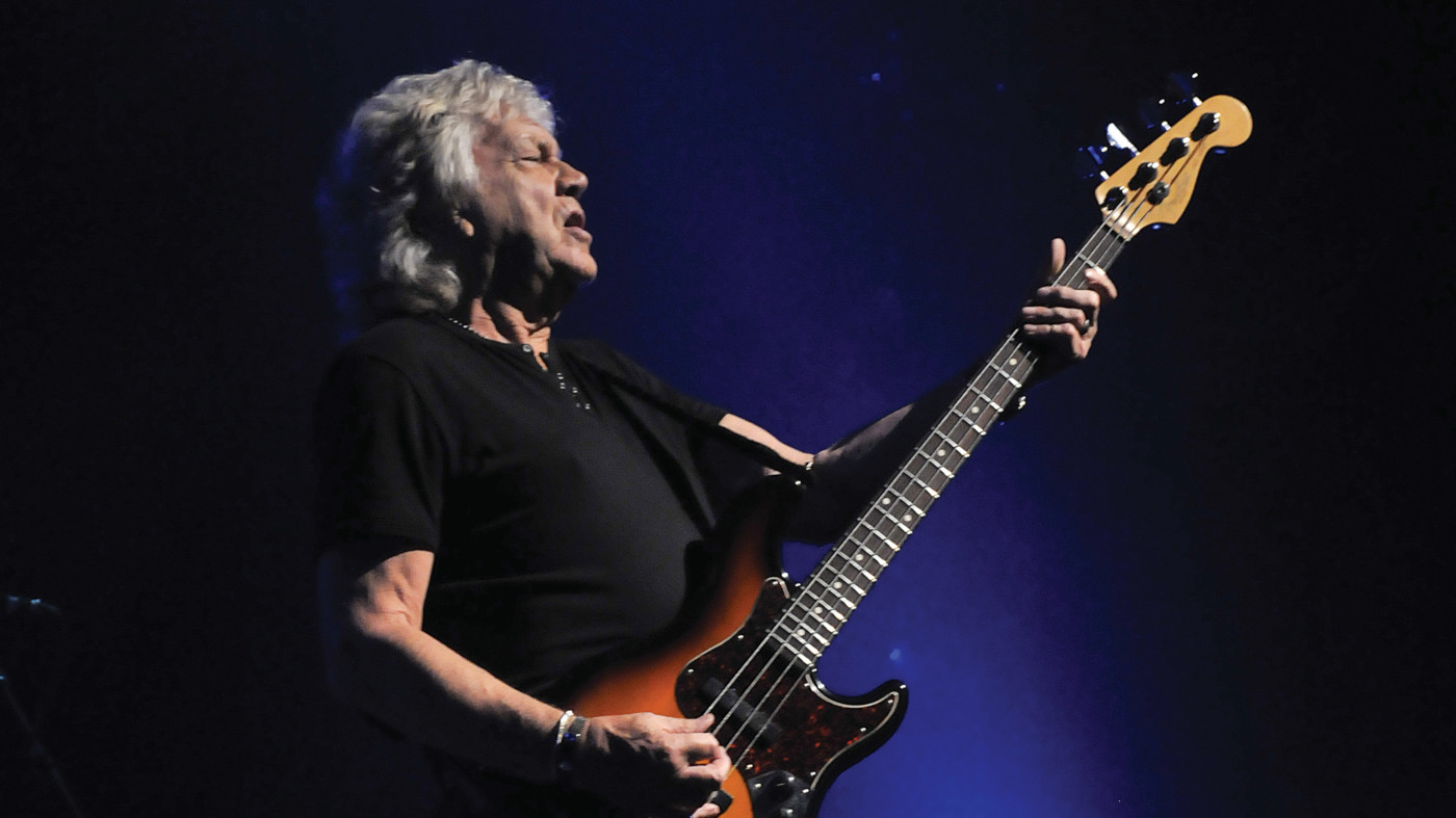 """The Moody Blues' John Lodge: """"My first Precision bass cost"""