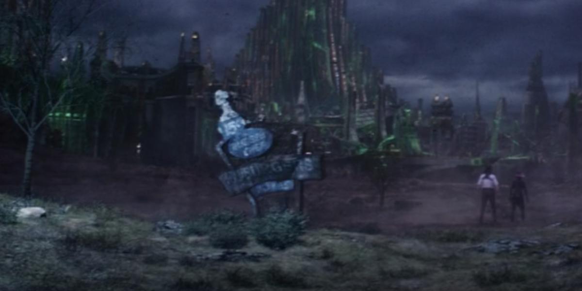 burger chef sign in Loki episode 5