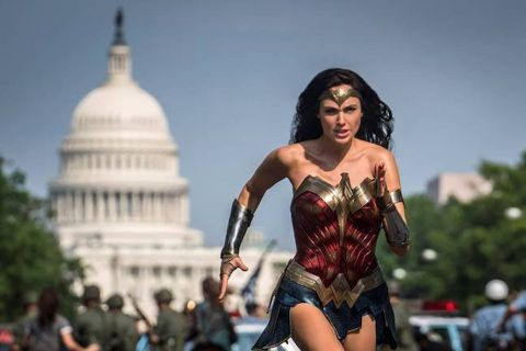 "Gal Gadot as Diana Prince in ""Wonder Woman 1984."""