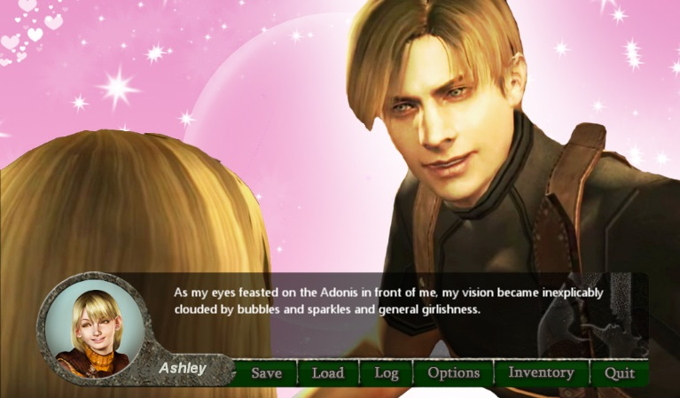 Resident Evil 4 Otome Edition Is A Dating Sim Played From