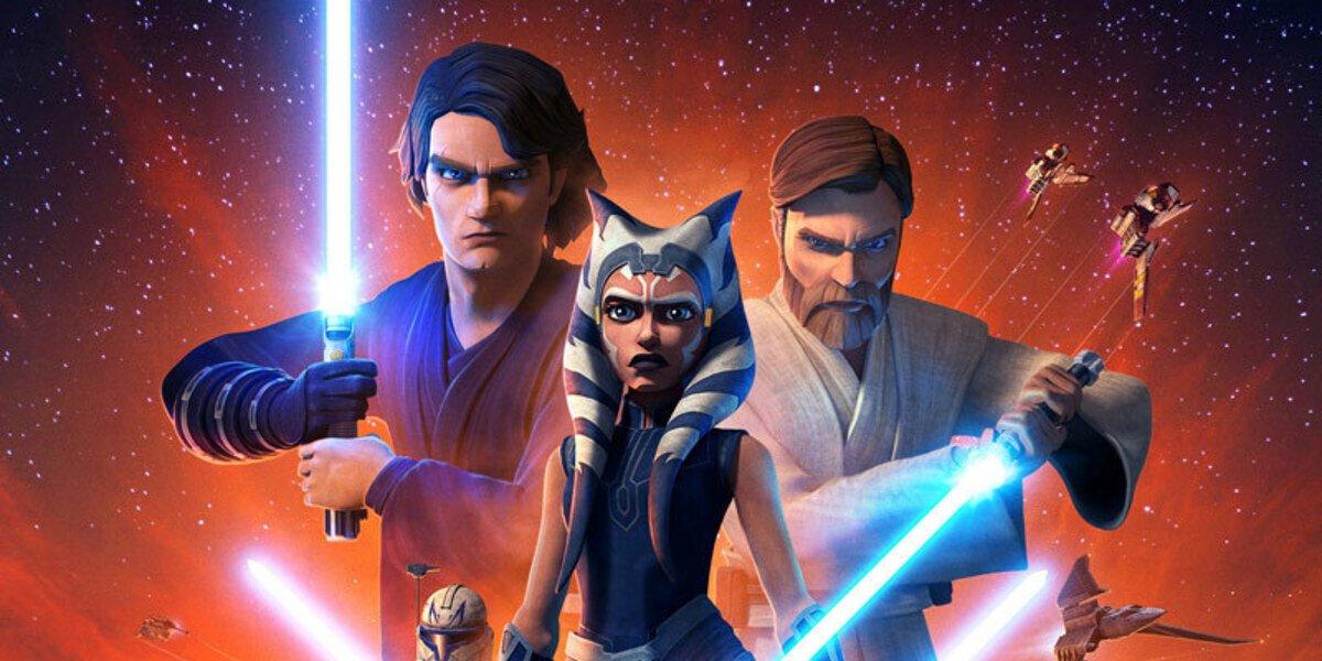 star wars the clone wars season 7 poster disney+