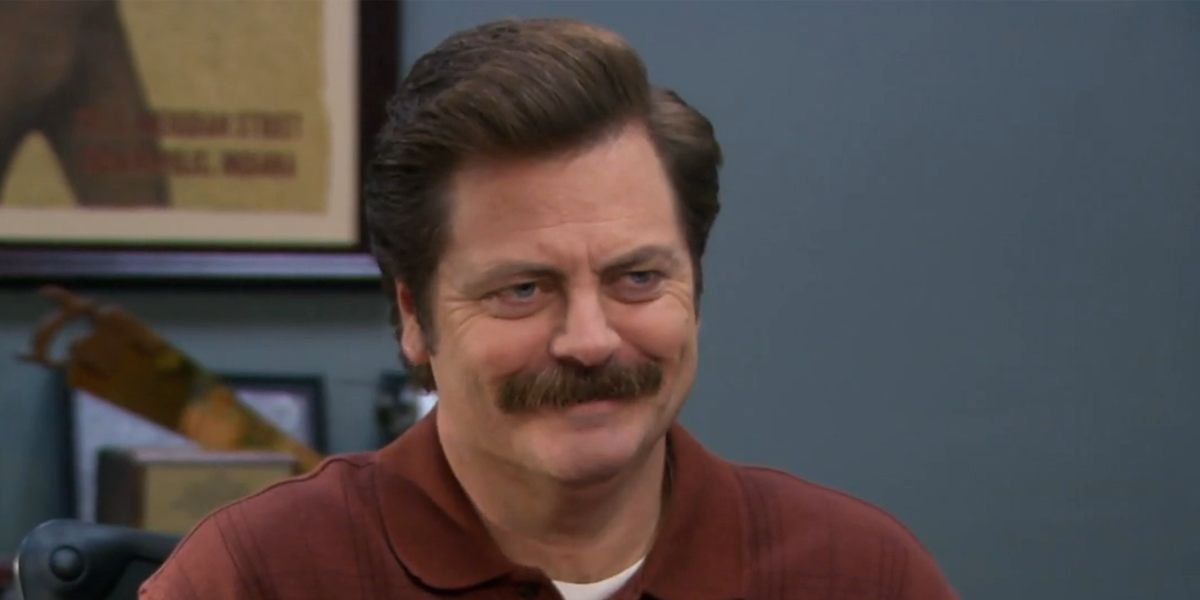 Nick Offerman in Parks and Recreation