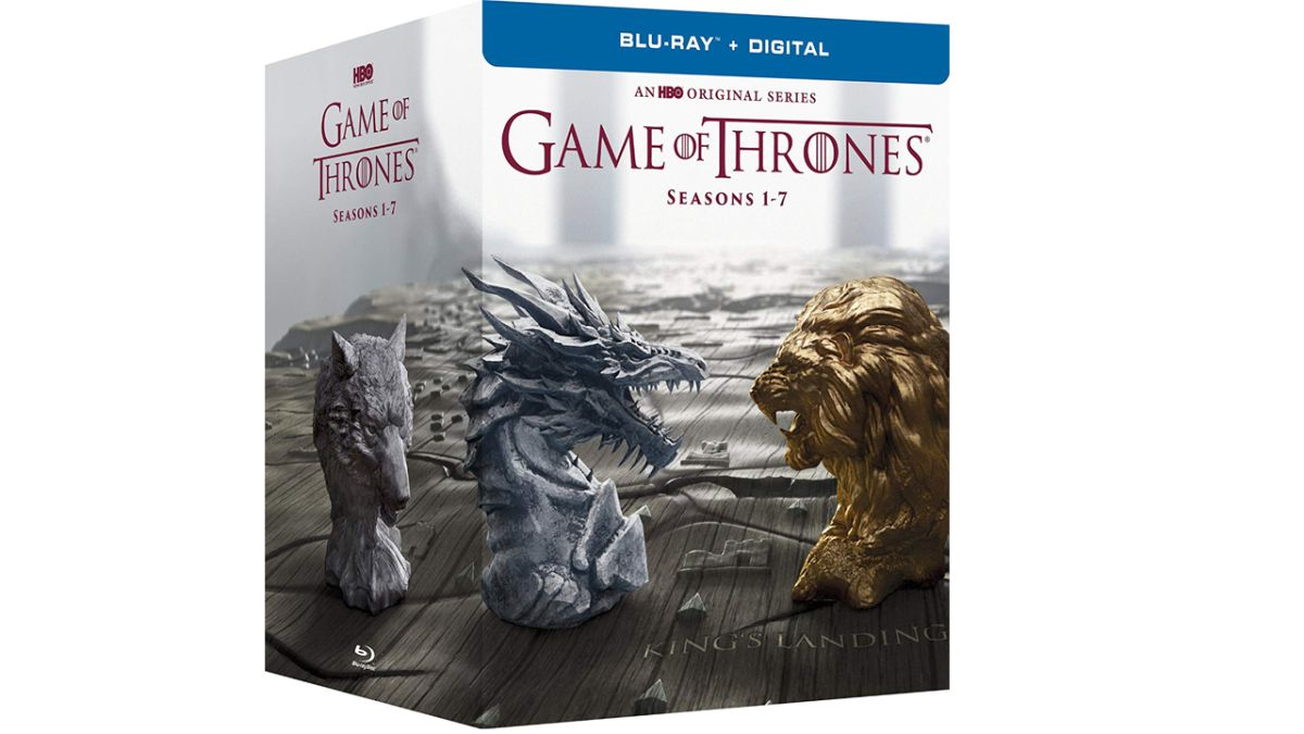 TODAY ONLY! Game of Thrones seasons 1-7 on Blu-ray for $74.99 - that's an epic 67% saving...