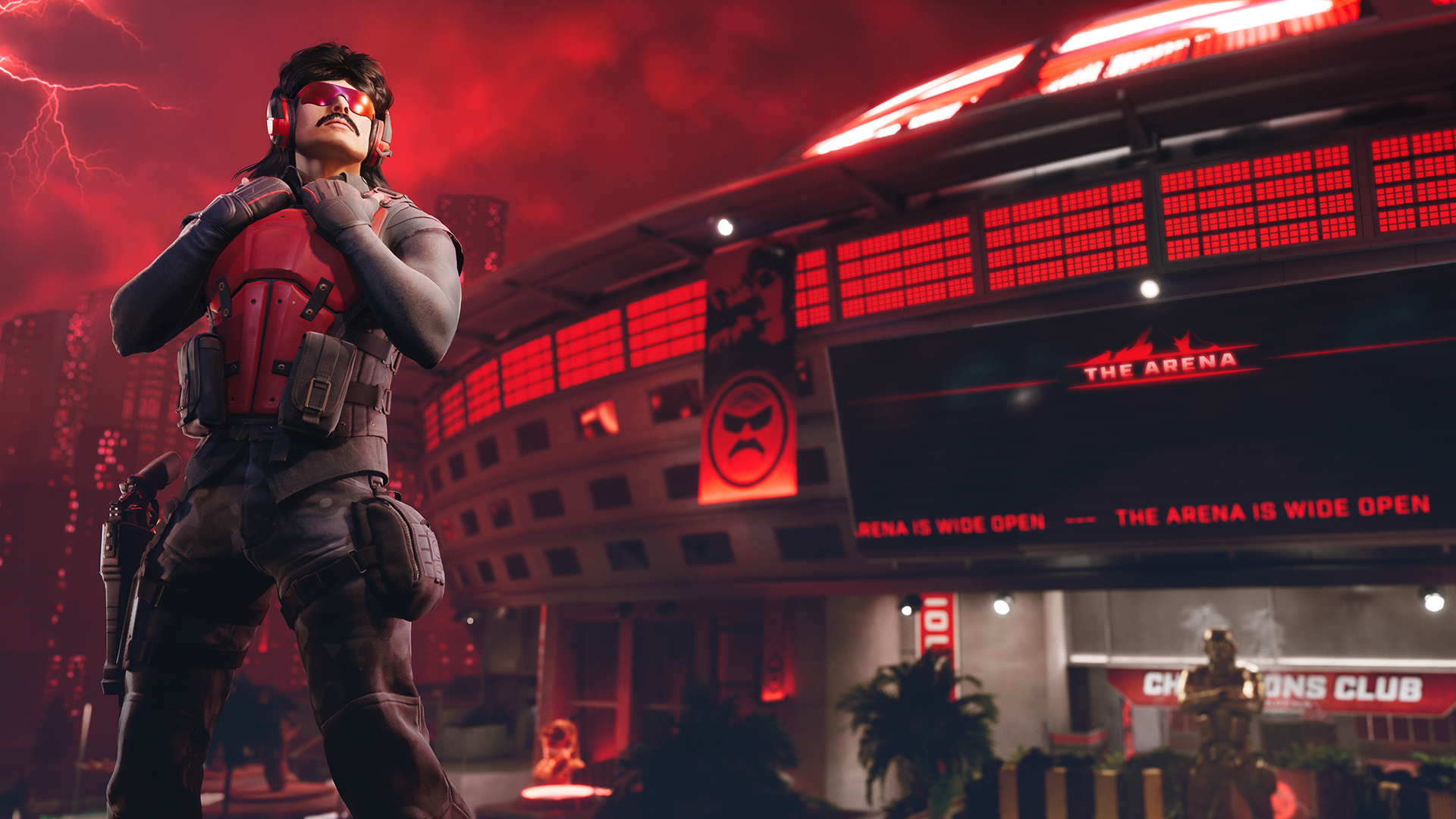 Dr Disrespect designed Rogue Company's new map