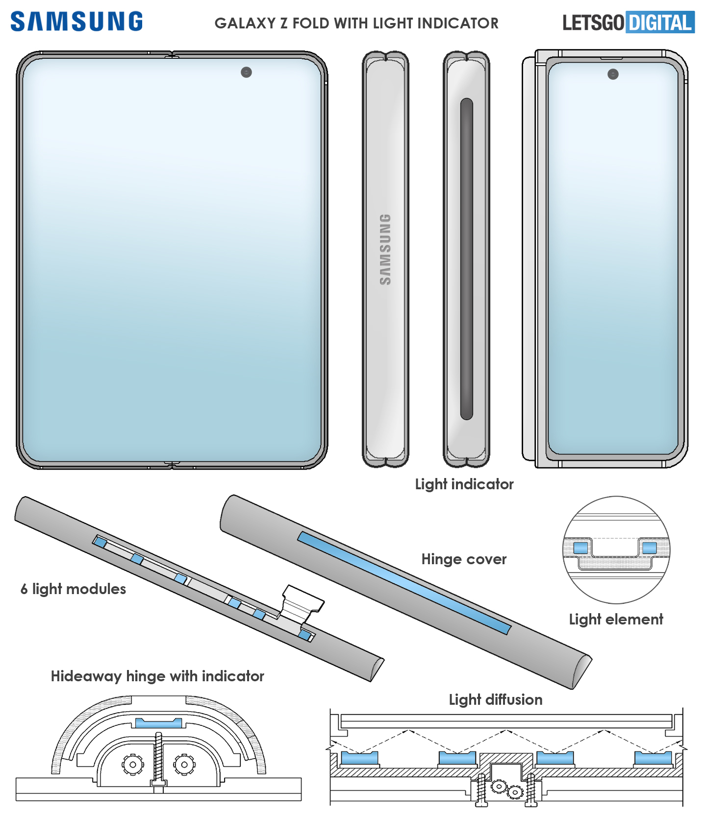 Концепт Samsung Galaxy Z Fold 3