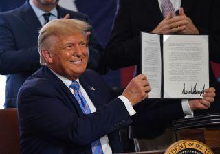 President Trump stimulus check 2