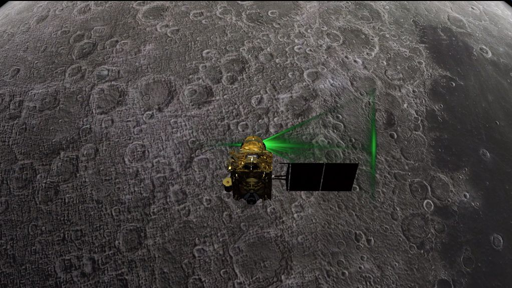 India Just Found Its Lost Vikram Lander on the Moon, Still No Signal