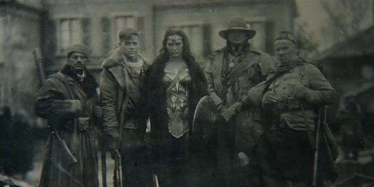 Batman v Superman Wonder Woman World War I