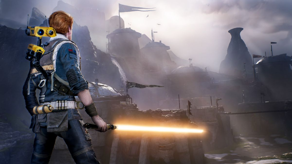 Star Wars Jedi: Fallen Order unlocks orange lightsabers and other pre-order bonuses for everyone