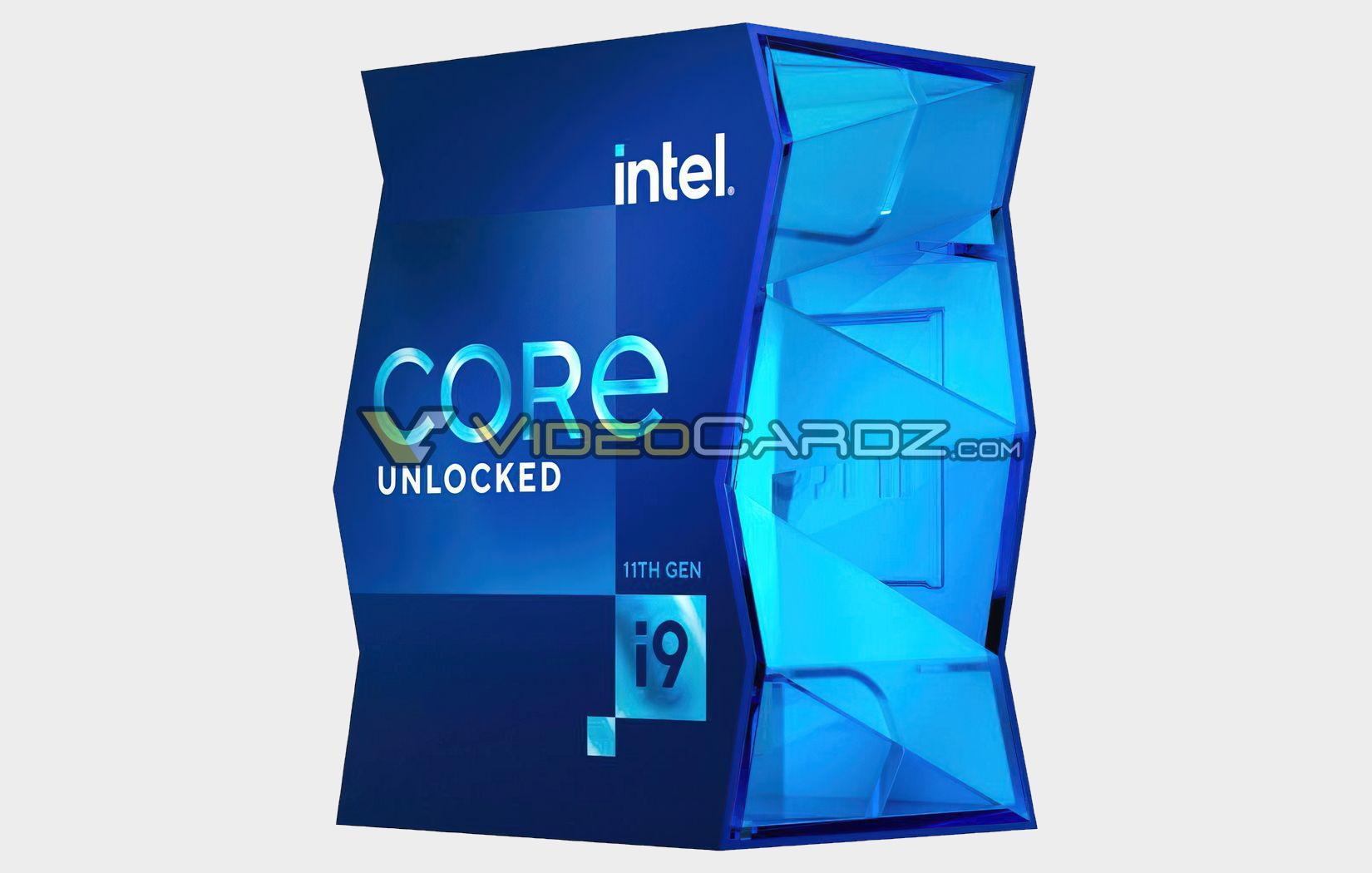 Intel Rocket Lake Core i9 11900K gets a funky new box