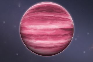 A planet-like star with water clouds