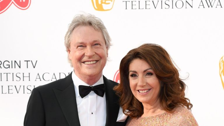 LONDON, ENGLAND - MAY 13: Walter Rothe and Jane McDonald attend the Virgin TV British Academy Television Awards at The Royal Festival Hall on May 13, 2018 in London, England. (Photo by Karwai Tang/WireImage)