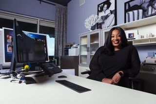 Michelle Sneed of Tyler Perry Studio