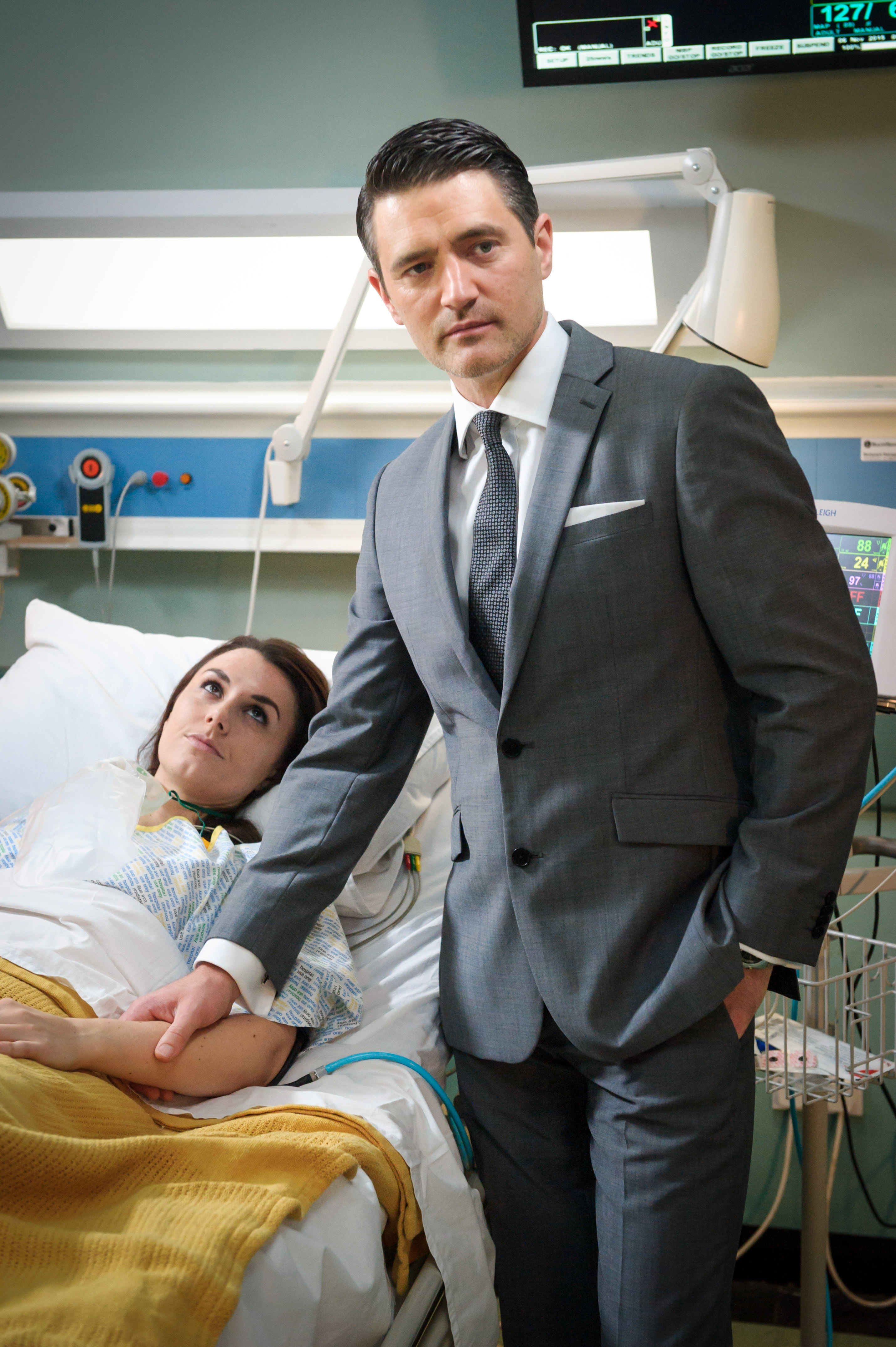 Casualty s Tom Chambers The electricity between Connie and Sam