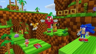 Sonic x Minecraft DLC