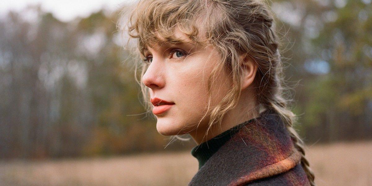 Taylor Swift Evermore art