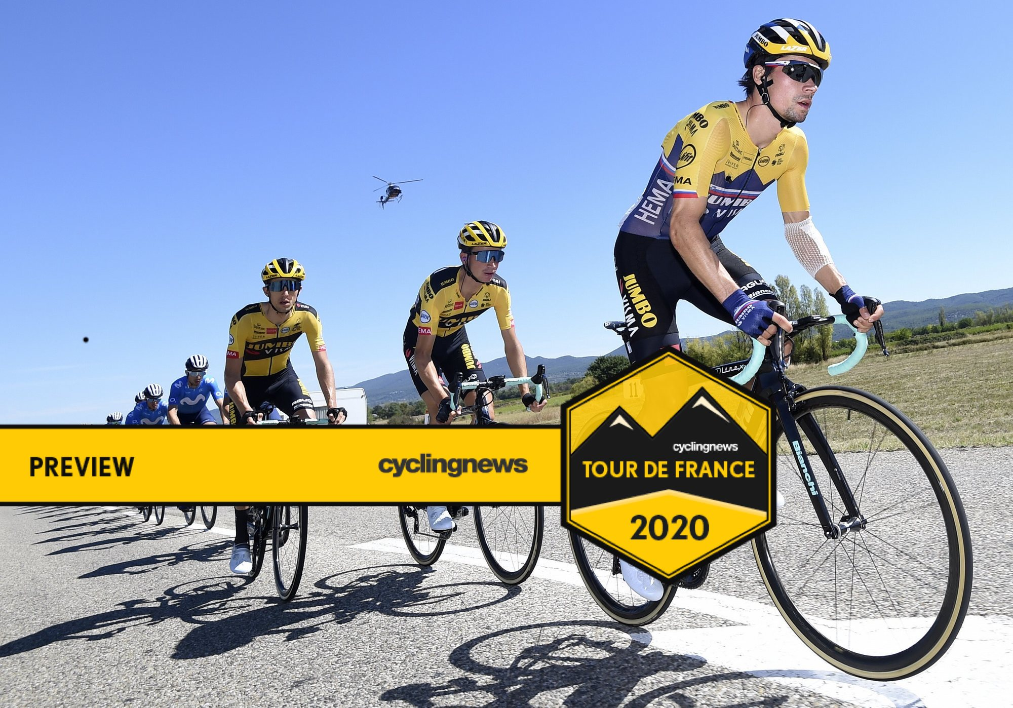 Will Primoz Roglic and his Jumbo-Visma teammates be content to continue to follow the pace, or will stage 8 be where they make their move at the 2020 Tour de France?