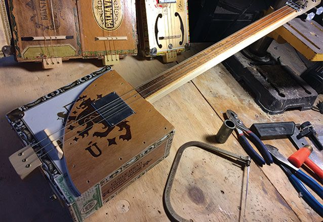 "Top Five DIY Instruments for the Holidays, from Cigar Box Guitars to Les Claypool's ""Whamola"""