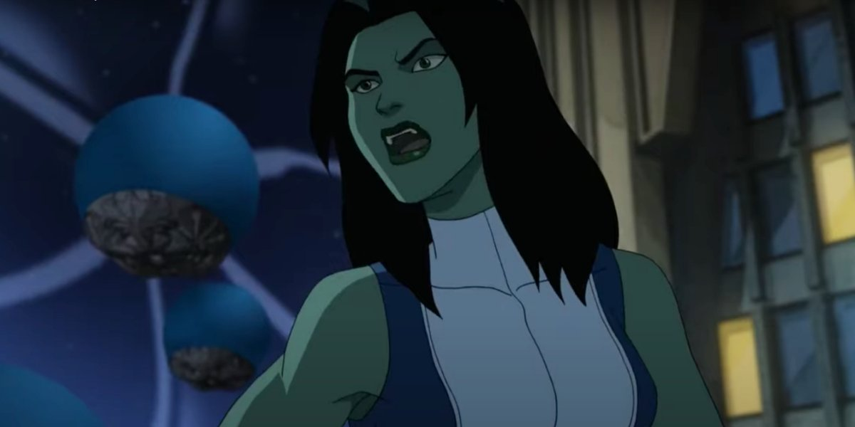 She-Hulk on Hulk And The Agents Of S.M.A.S.H.