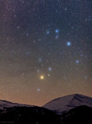Scorpius Constellation over Austria