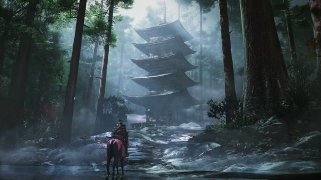 Ghost of Tsushima looks incredible