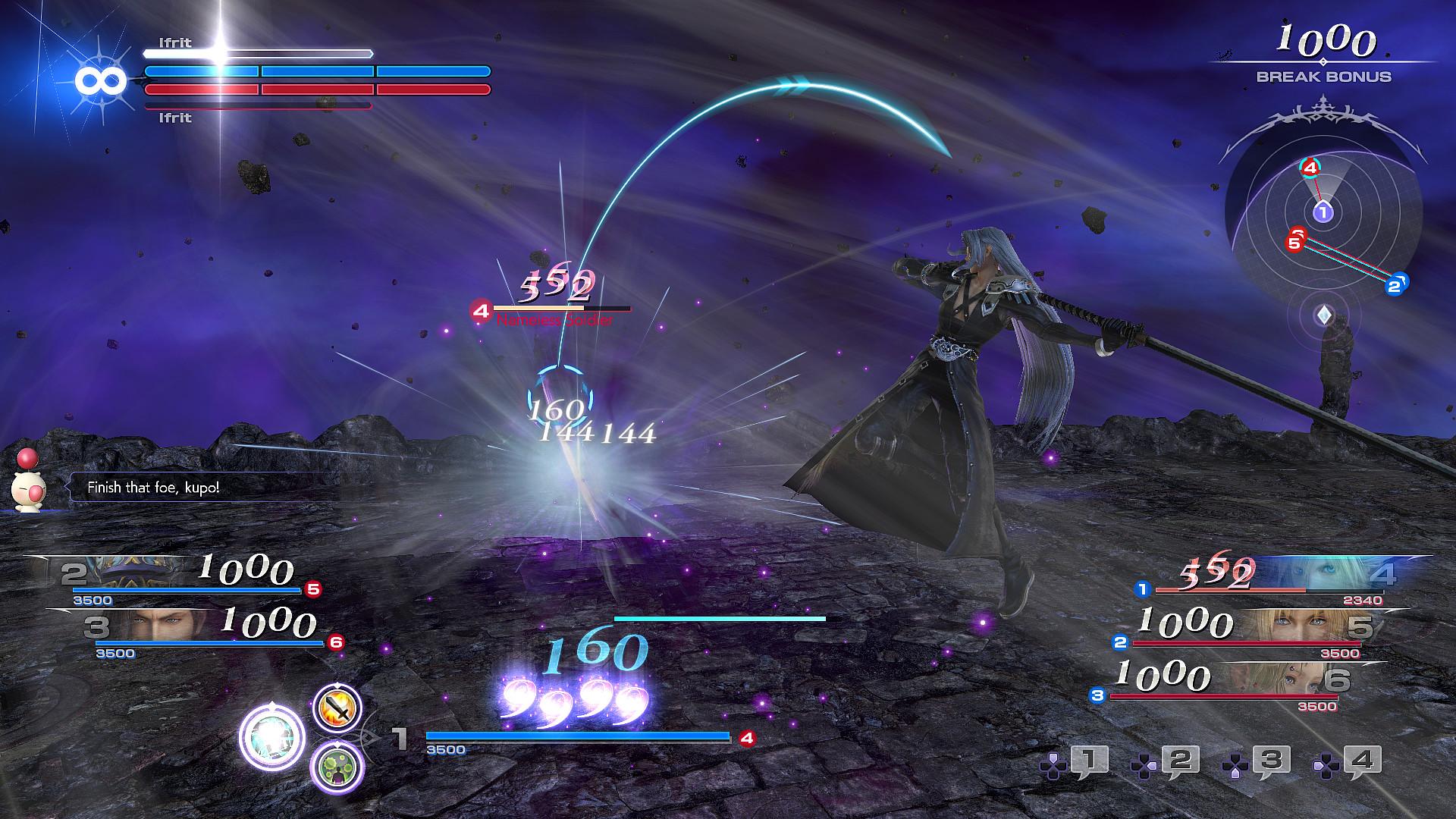 Dissidia final fantasy nt mods