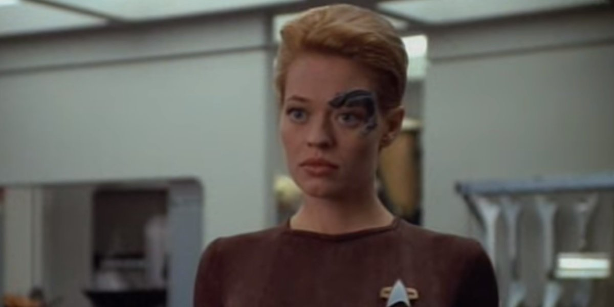 Star Trek's Jeri Ryan's Least Favorite Thing About Playing Seven Of Nine On Voyager