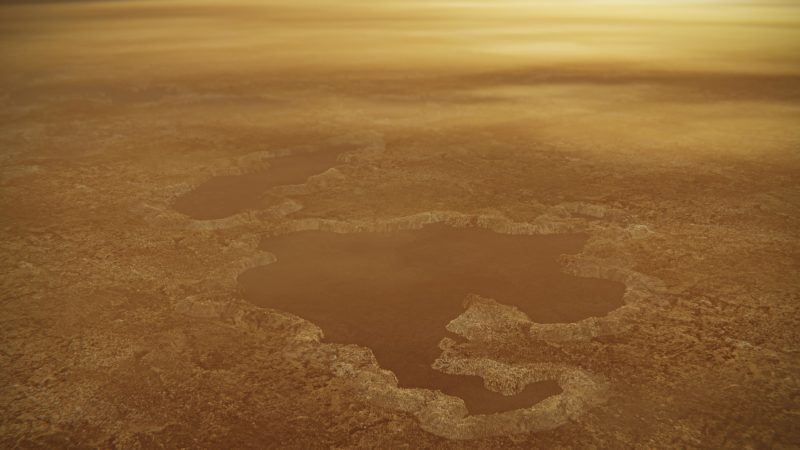 Lakes May Bubble Up into 'Magic Islands' on Saturn's Weird Moon, Titan