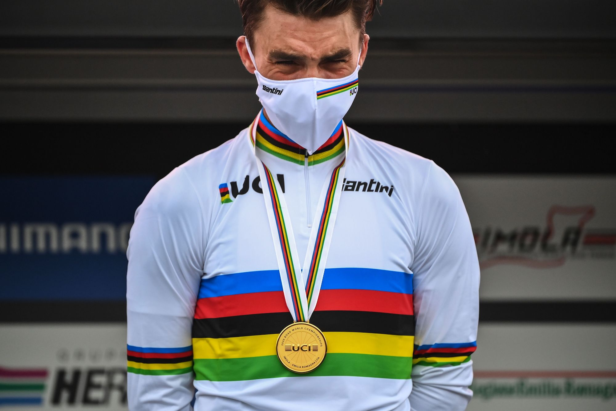 by Santini UCI Collection Crown Cycling Base Layer