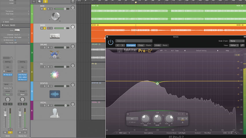 How to approach a stem mastering session