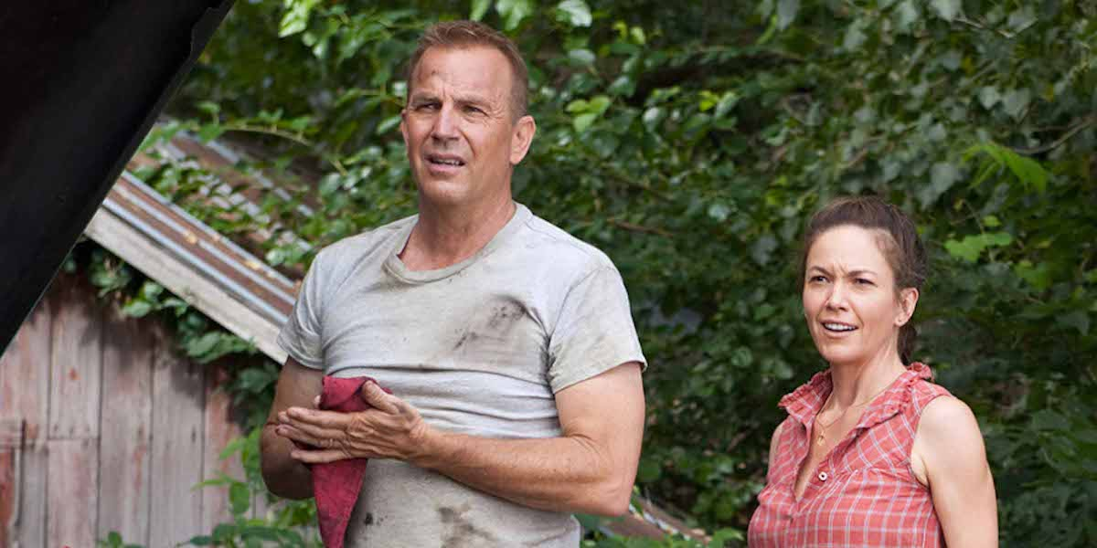 Diane Lane and Kevin Costner in Man of Steel
