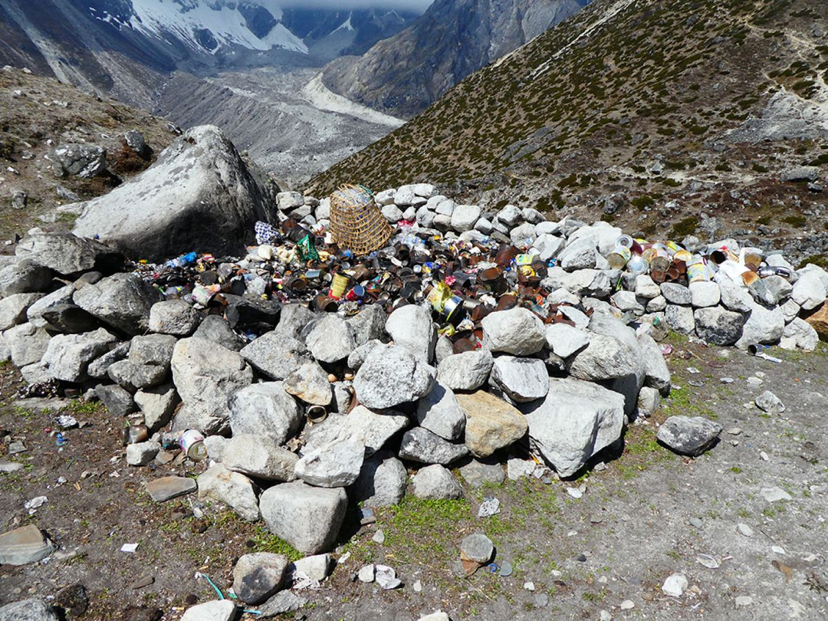 How Much Trash Is on Mount Everest? | Live Science
