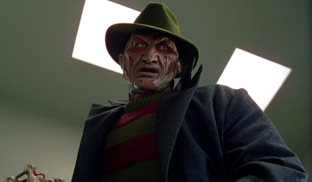 Wes Craven's New Nightmare Freddy Kruger in the hospital