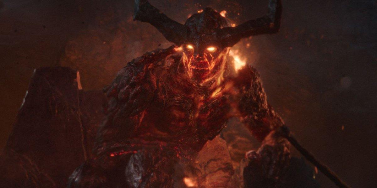 Fire Giant Surtur from Thor: Ragnarok