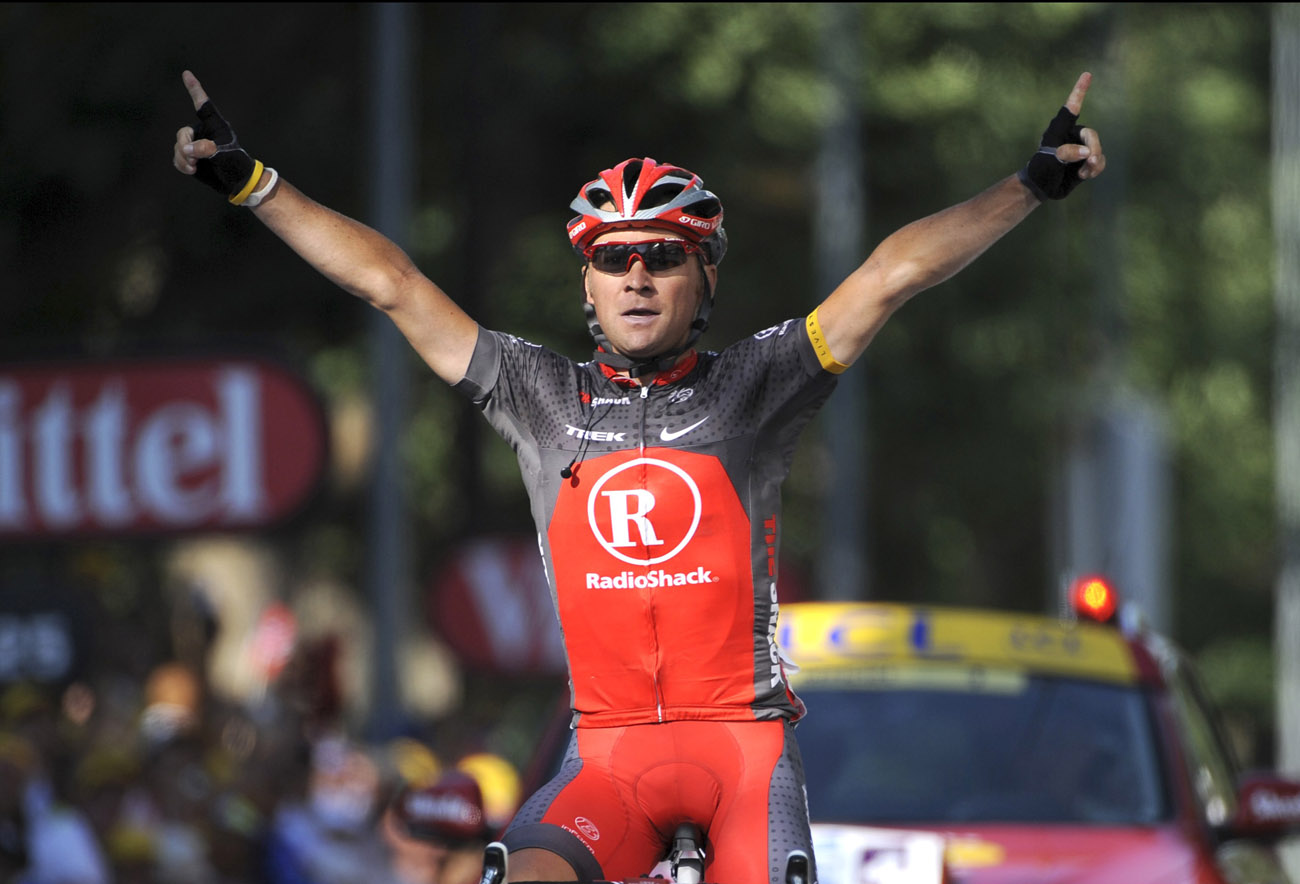 Sergio Paulinho wins, Tour de France 2010, stage 10
