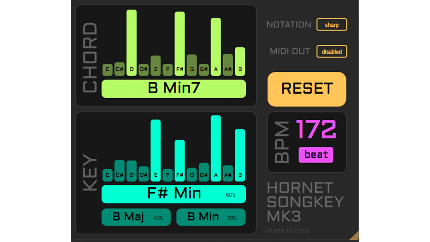 HoRNet's SongKey plugin now detects chords and tempo and supports MIDI | MusicRadar