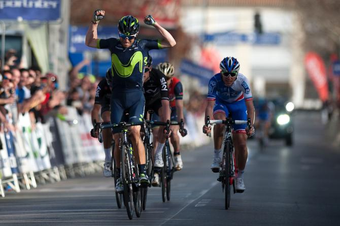 Alejandro Valverde wins stage 1 at the Ruta del Sol