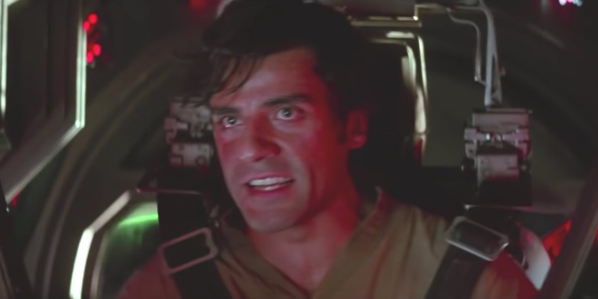 Poe Dameron in The Force Awakens