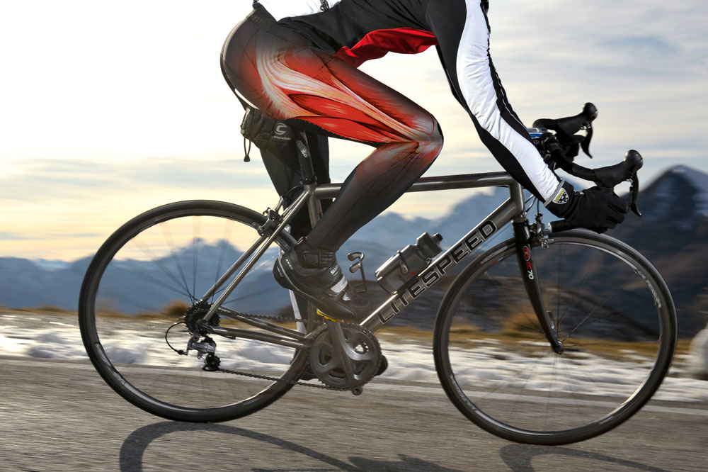 Image result for cycling leads to movement of joints