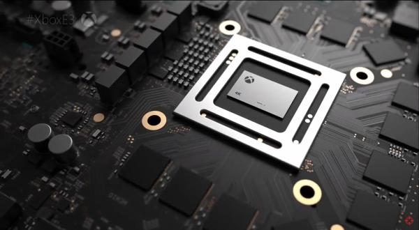 Xbox Scorpio circuit board