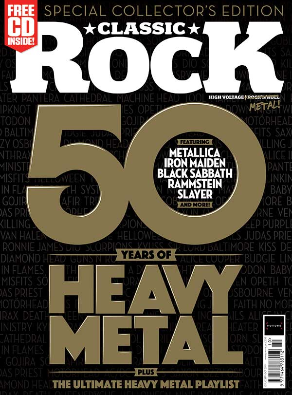 50 Years Of Heavy Metal: celebrated in the new issue of Classic Rock, out now | Louder