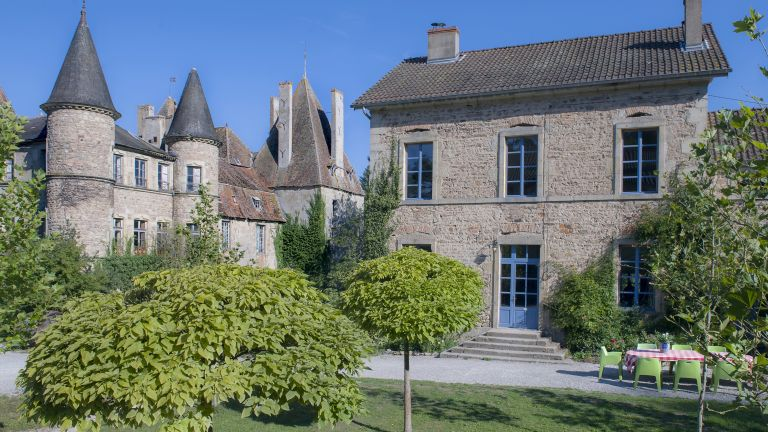 renovated french home in grounds of castle