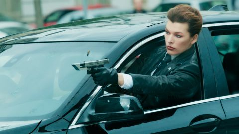 In 'The Rookies,' Milla Jovovich stars as Special Agent Bruce, who recruits an extreme-sports athlete (Talu Wang) to join a shadowy organization dedicated to fighting crime.