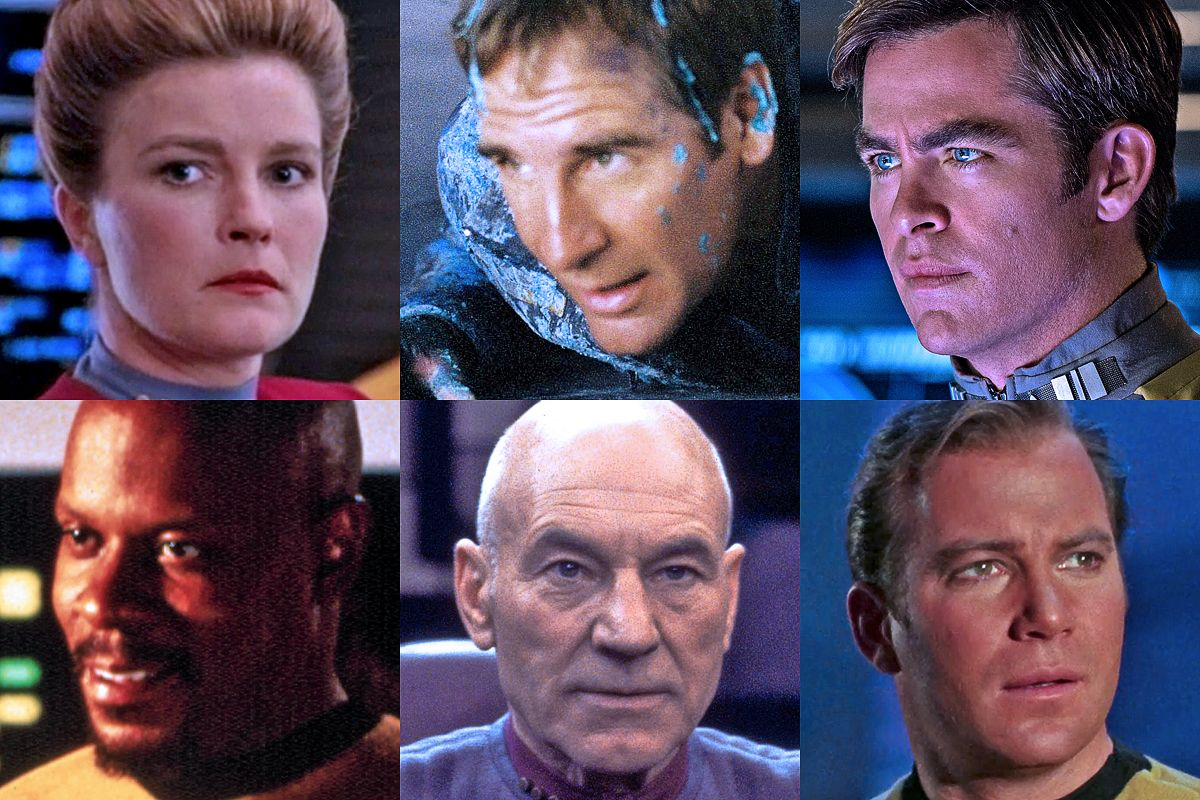 6 Star Trek Captains Ranked From Worst To Best Space