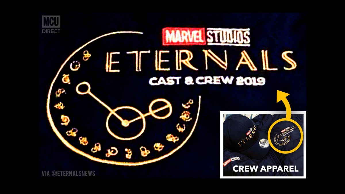 New Marvel Eternals logo leaked