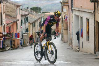 Tirreno Adriatico 2021 - 56th Edition - 5th stage Castellalto - Castelfidardo 205 km - 14/03/2021 - Wout Van Aert (BEL - Jumbo - Visma) - photo Luca Bettini/BettiniPhoto©2021