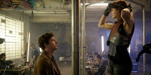 Ready Player One Tye Sheridan and Olivia Cooke
