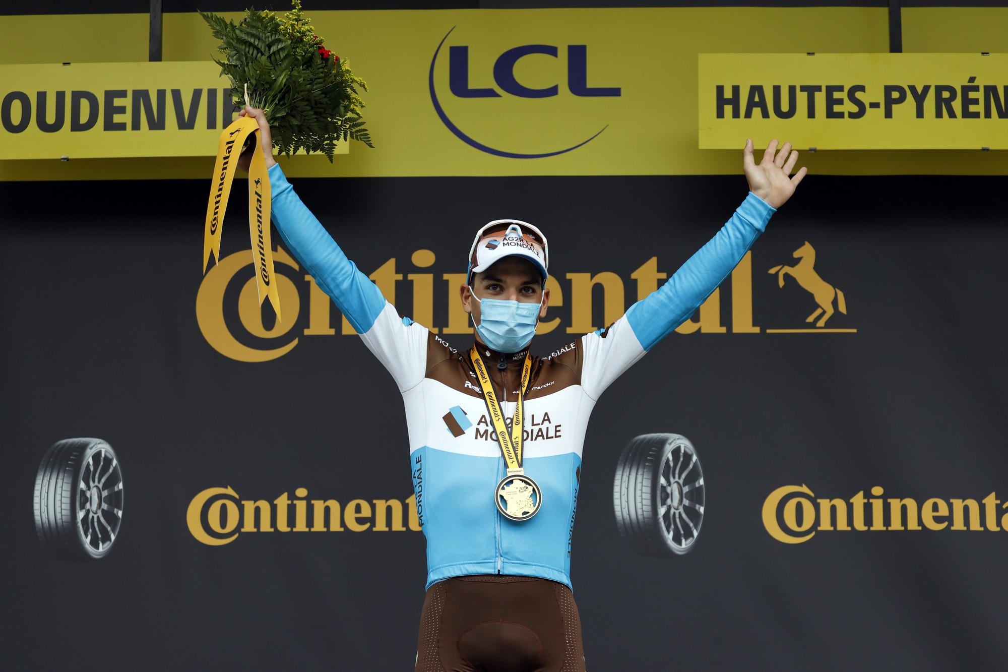 Tour de France 2020 - 107th Edition - 7th stage Cazeres - Loudenvielle 141 km - 05/09/2020 - Nans Peters (BEL - AG2R - La Mondiale) - photo POOL Sunada/BettiniPhoto©2020
