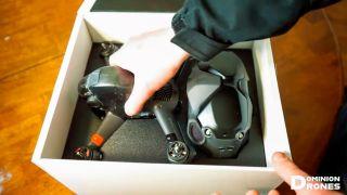 DJI FPV Drone unboxed